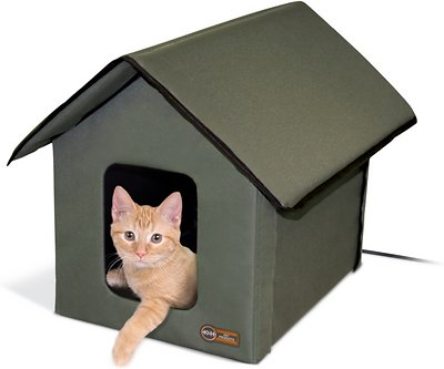 KH outdoor heated kitty house from-chewy